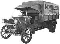 Achiziționarea primului camion, un Fiat 18BL