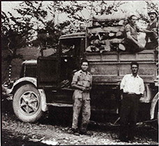 În perioada reconstrucției activitatea a luat avânt, încep primele transporturi spre sudul Italiei