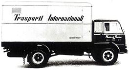 """Domenico, Gaetano's son, establishes """"Domenico Montecchi Trasporti Internazionali"""""""