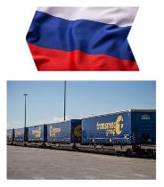 """Primera partida del tren de propiedad entre Bélgica y Rumania. Nace la tercera joint venture con D.B. Group: """"TDBG Russia"""" en Moscú"""