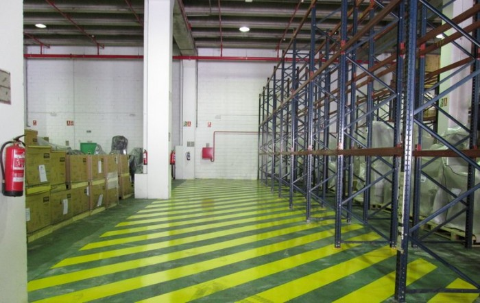 First bonded warehouse in Madrid