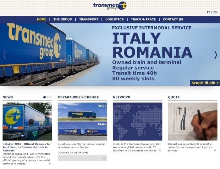 Navigare plăcută! Noul website Transmec este online