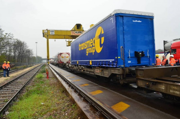 Investment of 5.5 million to develop intermodal service