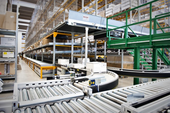 Opening ceremony for the new automated warehouse system