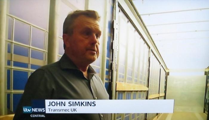 Eforturile Transmec în gestionarea transportului de marfă între Kent și Calais