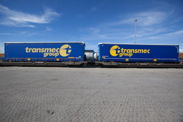 Transmec's first train is ready for departure